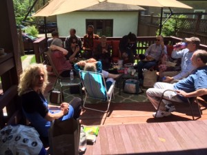 Relaxing with Hartford KTC members